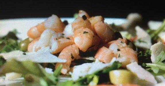 L'insalata di gamberi ricetta sfiziosa e gustosa